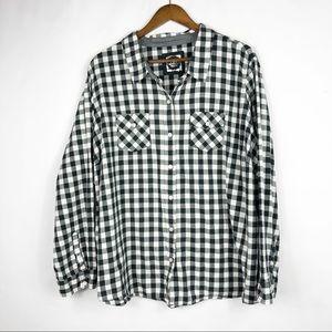 CATO Black/White Long Sleeve Blouse in 26/28
